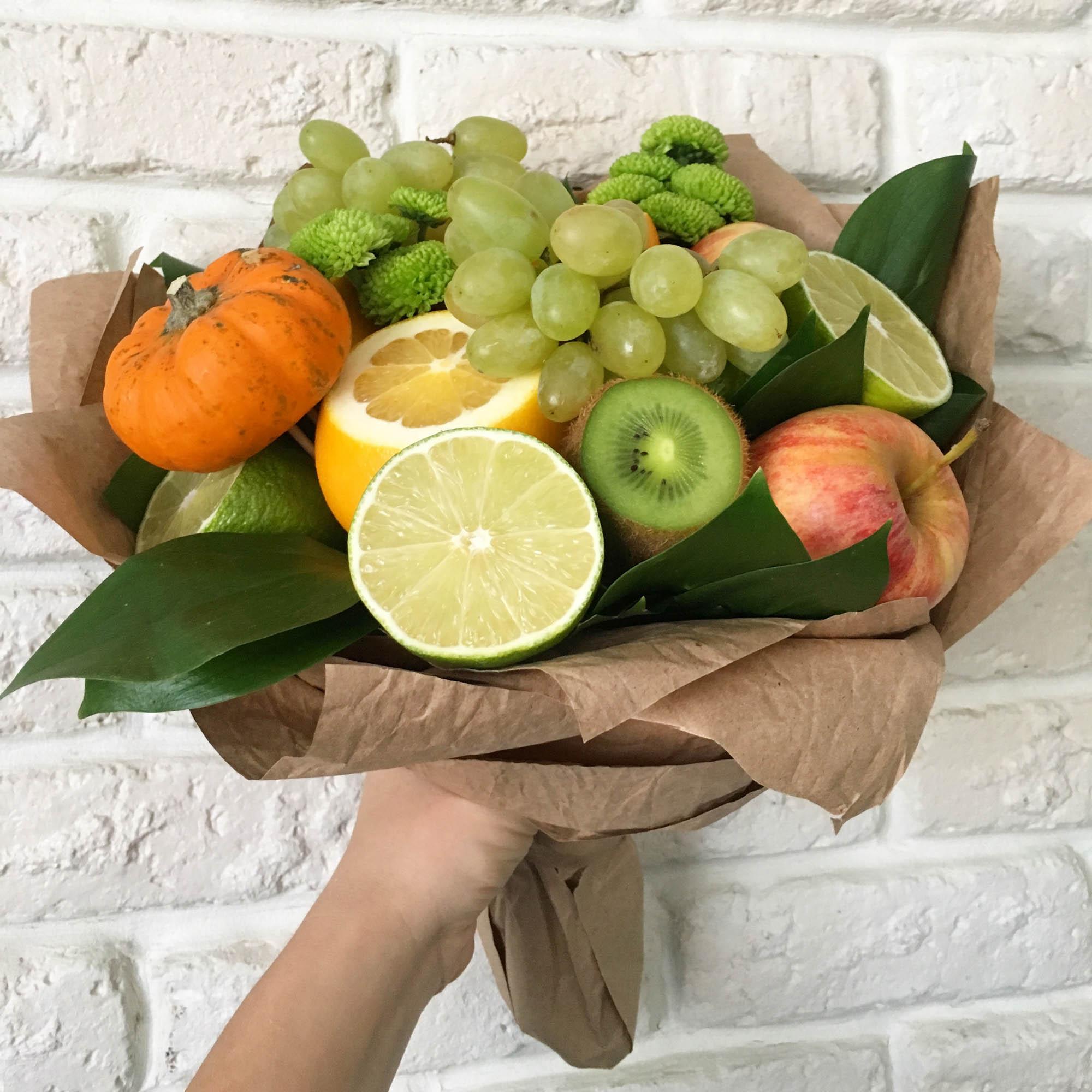 фруктовые букеты своими руками фото пошагово центре событий мультфильма