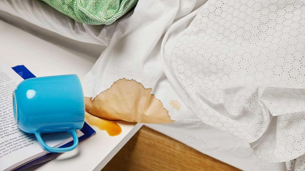 Как отстирать застарелое пятно от кофе