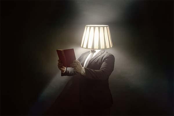 Читать книгу под абажуром