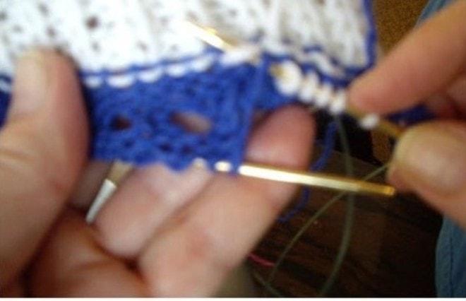 вязание пинеток кед спицами
